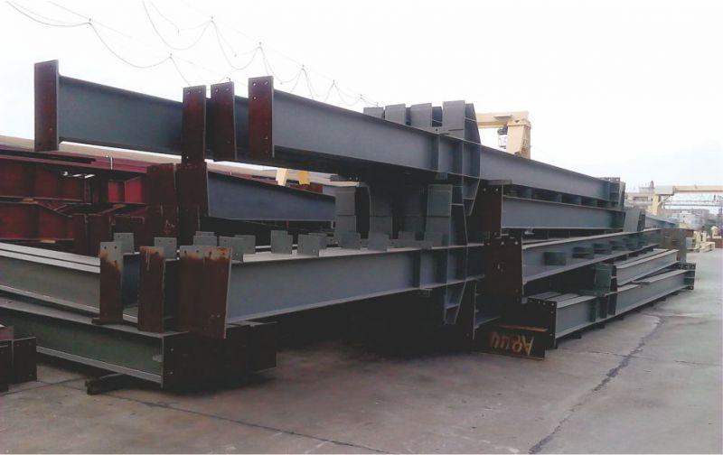钢结构构件进入发货高峰期