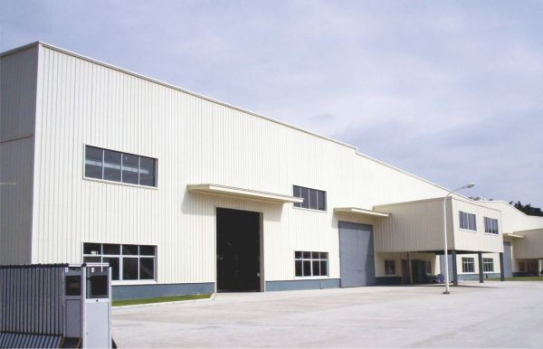 大跨度多脊厂房-工业厂房
