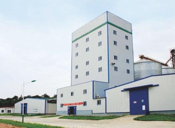 饲料厂类高层厂房-工业厂房